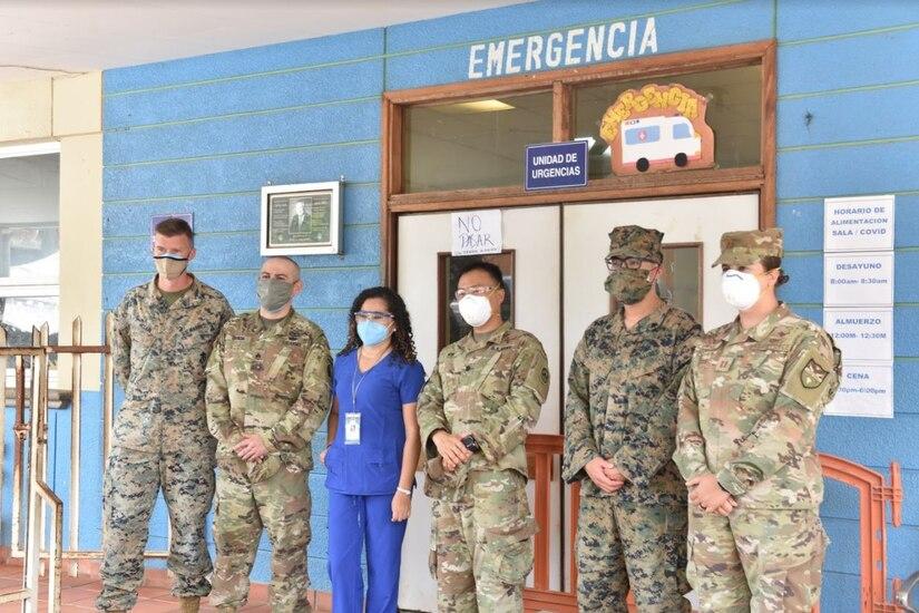 SPMAGTF Marines, JTF-Bravo donate critical supplies to Trujillo