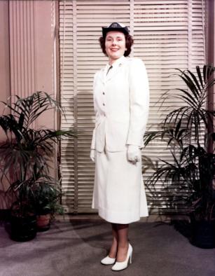 photo of WAF service dress