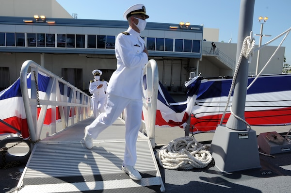 The commissioning ceremony of USS Delbert D. Black (DDG 119).
