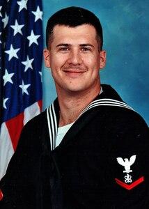 Portrait of Electronic Warfare Technician 3rd Class Ronald S. Owens.