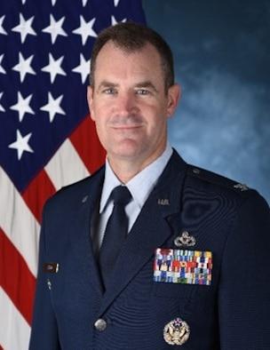 Official photo of Col. John E. Tryon, Detachment 1 commander, Air Force Civil Engineer Center. (U.S. Air Force photo)