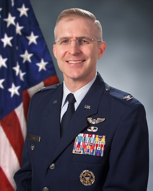 Col Cain is the vice commander of the Air Force Life Cycle Management Center.