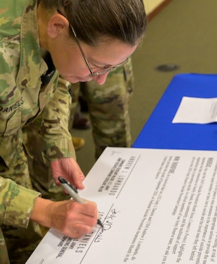 Army Reserve Suicide Prevention Campaign 2020 Proclamation
