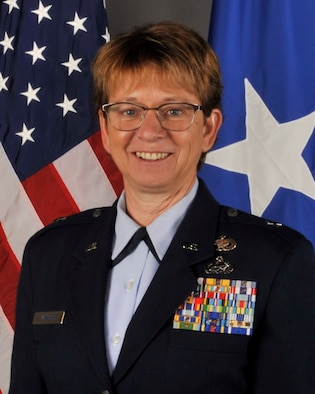 This is the official photo of Brig. Gen. Wendy K. Johnson.