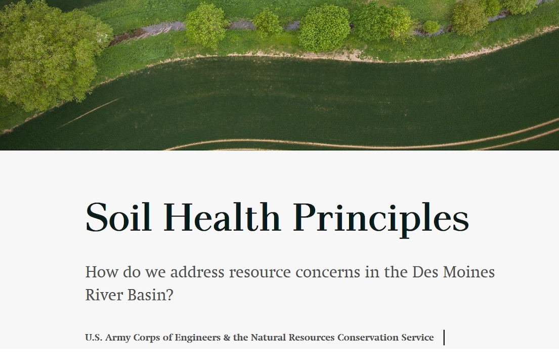 Soil Health Principles story map