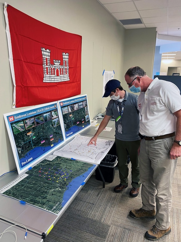 Local government liaison, FEMA GIS specialist review mapping pro