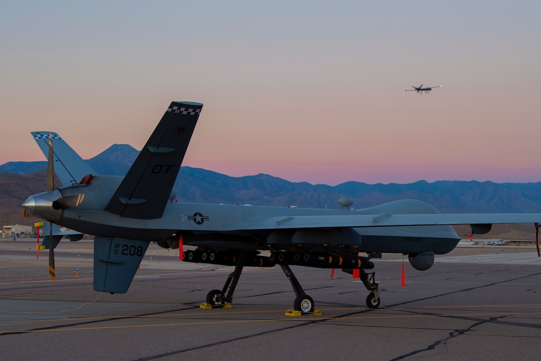 MQ-9 on ramp