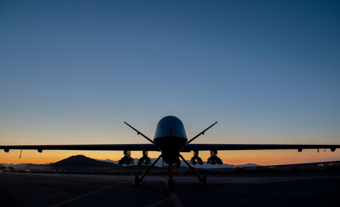 MQ-9 on ramp