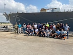 ROTA, Spain, (September 13, 2020) Forward Deployed Regional Maintenance Center (FDRMC) detachment Rota completed the USS Donald Cook (DDG 75) Surface Incremental Availability (SIA) five days ahead of schedule, returning the ship for continued operational tasking.