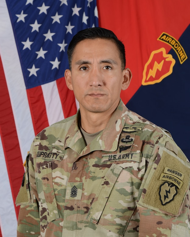Command Sergeant Major Alexander Kupratty