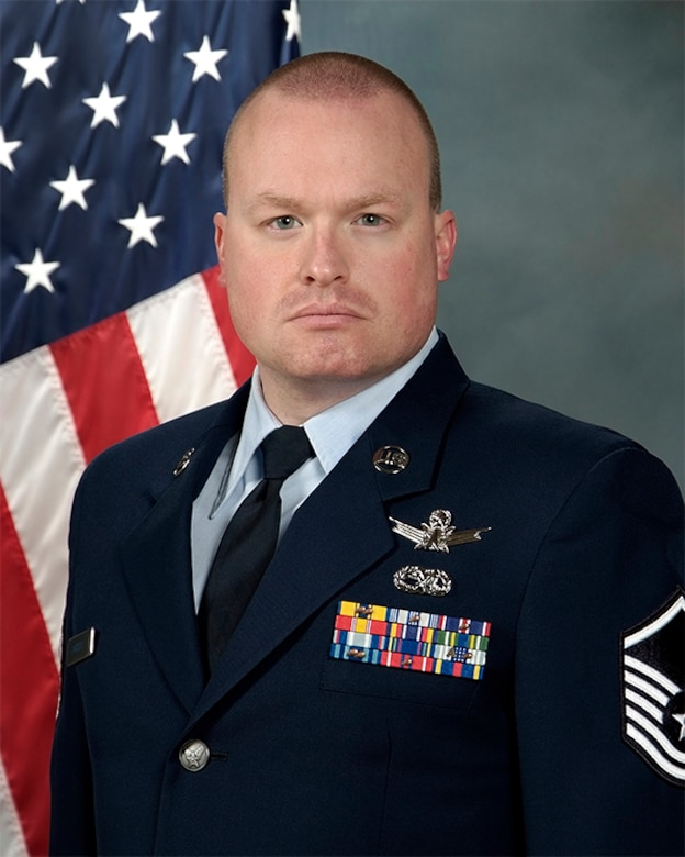 Master Sgt. Jeffrey Roberts official photo