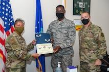MDS Airman receives BTZ promotion