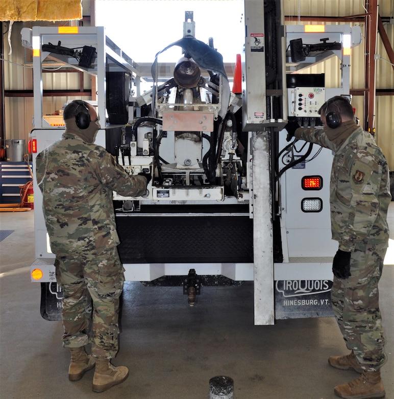 Checking APE equipment
