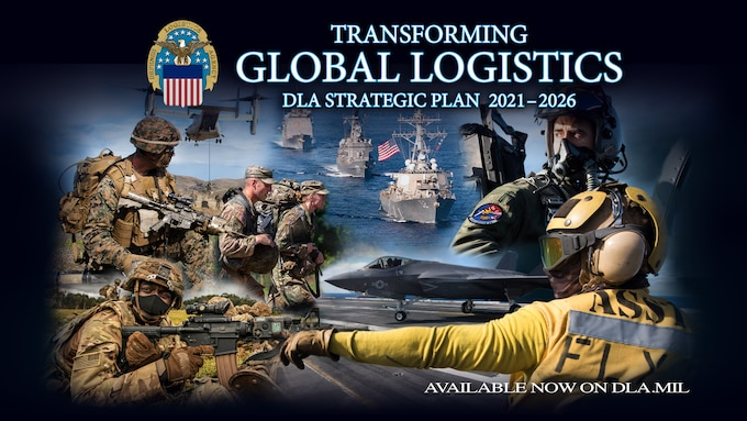 Graphic is a collage of U.S. troops from around the world wearing various uniforms and performing various duties ranging from air traffic control to aiming weapons.