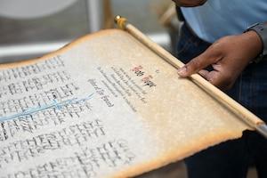 Order of the sword scroll of Bob Hope.