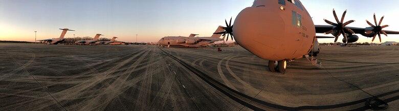 C-130H in Little Rock, Ark.