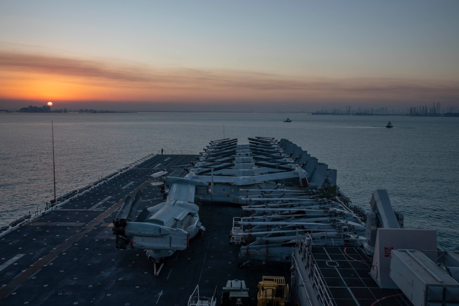 USS Makin Island Conducts Port Visit in Bahrain