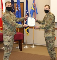 Carter promoted to staff sergeant