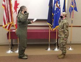 Johnson promoted to master sergeant
