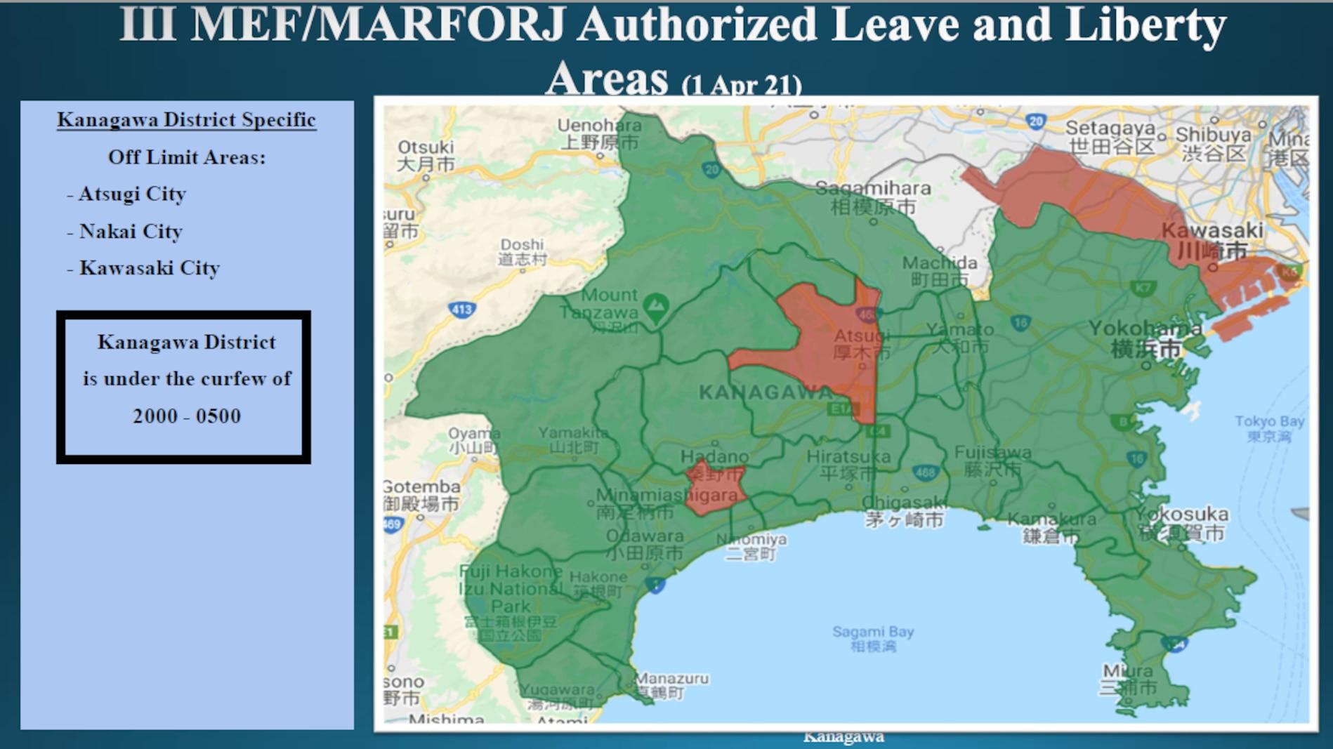 III MEF/MARFORJ Leave and Liberty