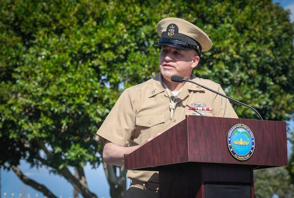 Force Master Chief James Osborne retirement