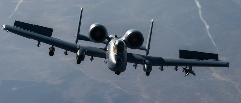 Warthogs over Idaho