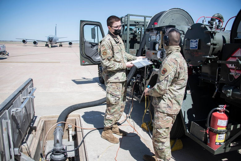 97 AMW conducts severe weather exercise.