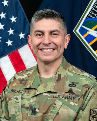 CSM Jack Nichols, Command Sergeant Major, U.S. Army Cyber Command