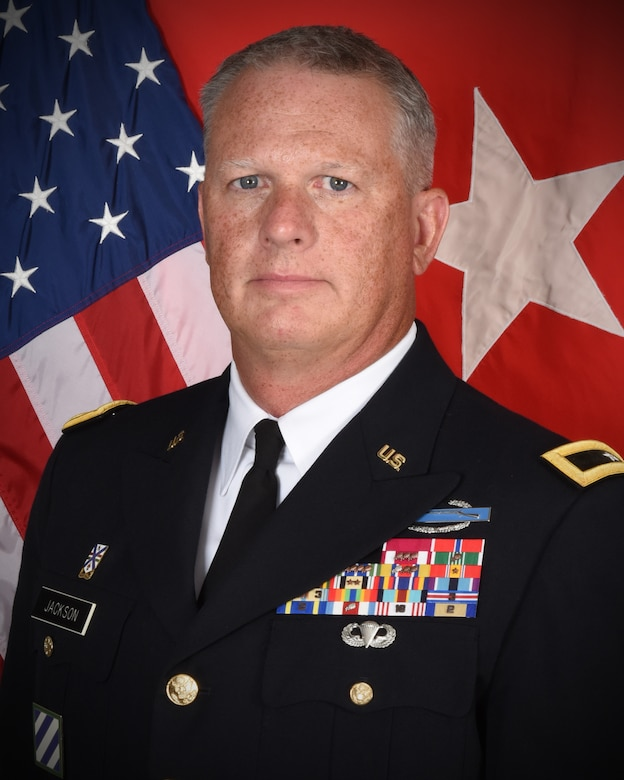 Illinois Army National Guard Brig. Gen. Mark Jackson of Frankfort, Illinois, has been selected as the Deputy Commanding General of Operations for First Army and will be promoted to Major General.