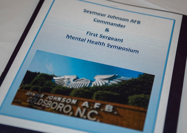 An annual Mental Health Symposium is held at Seymour Johnson Air Force Base, North Carolina March 31, 2021.