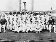 Officers & Crew of USCGC Yocona, 1925
