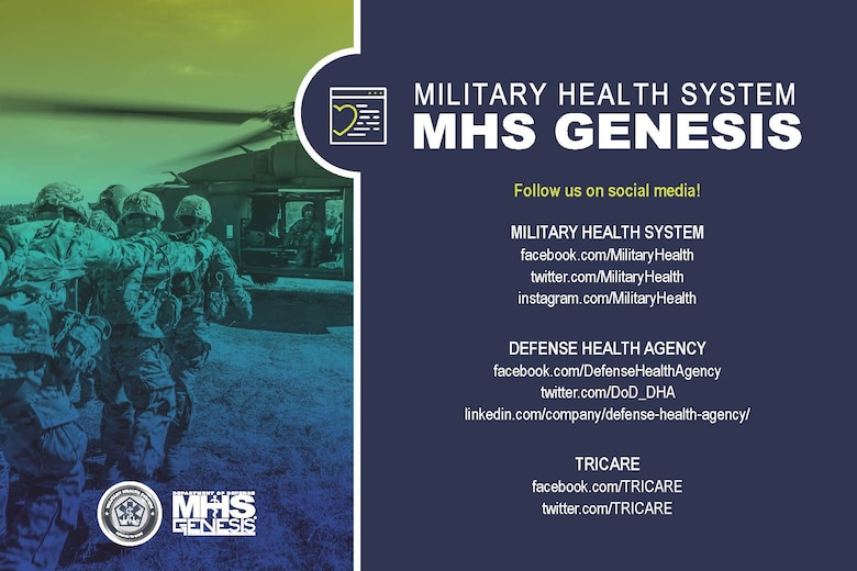-	MHS GENESIS is the new electronic health record (EHR) for the Military Health System. It is the single, continuous record of care that will support the provision and coordination of care for 9.5 million TRICARE (i.e., service members, retirees, and family members) beneficiaries worldwide. Full deployment of MHS GENESIS, in all military hospitals and clinics, is expected to be complete by 2023.