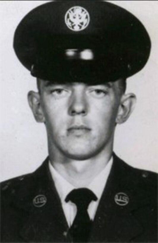 Portrait of U.S. military service member.