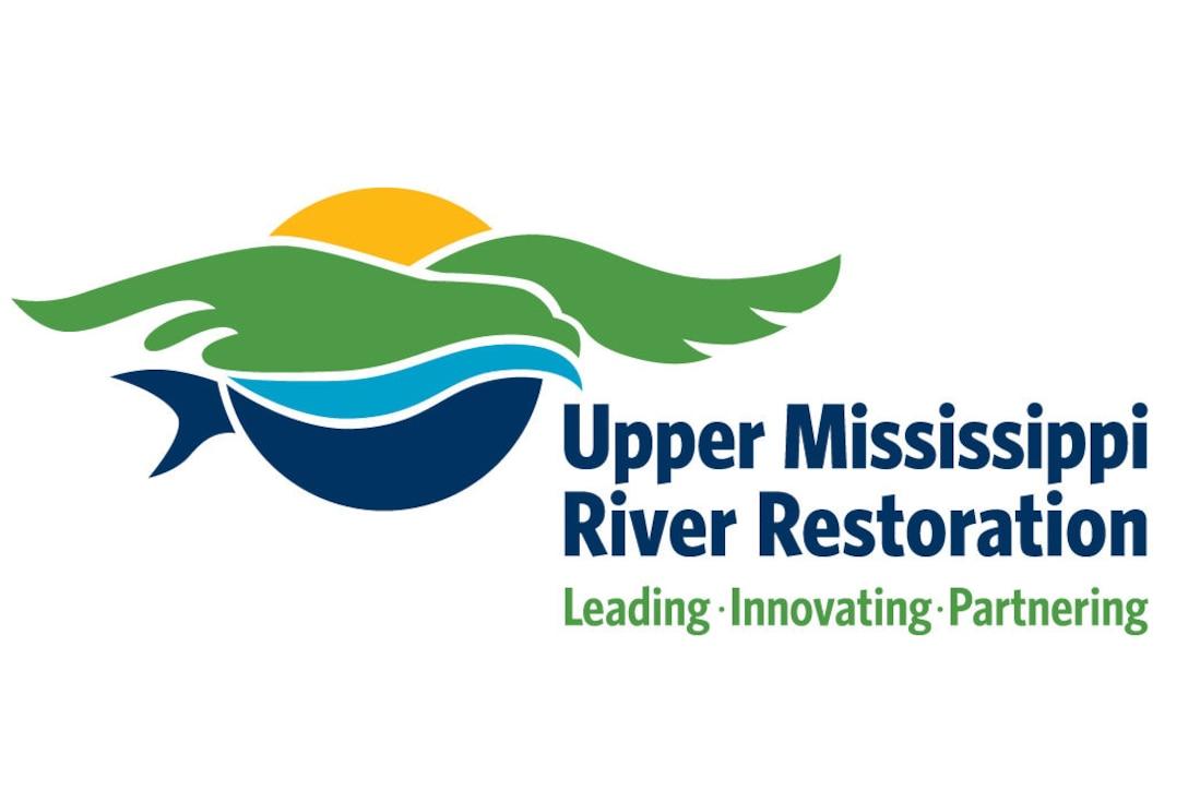Logo representing the Upper Mississippi River Restoration Program.