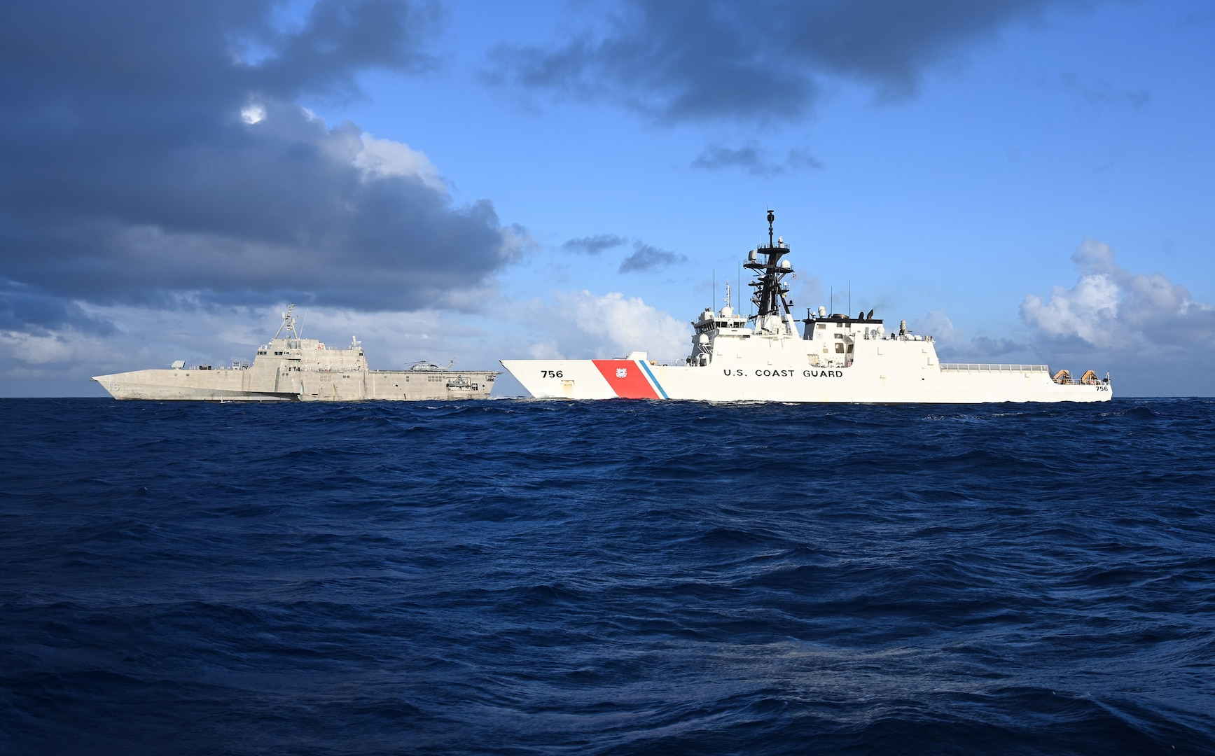 USS Tulsa, USCGC Kimball conduct joint training