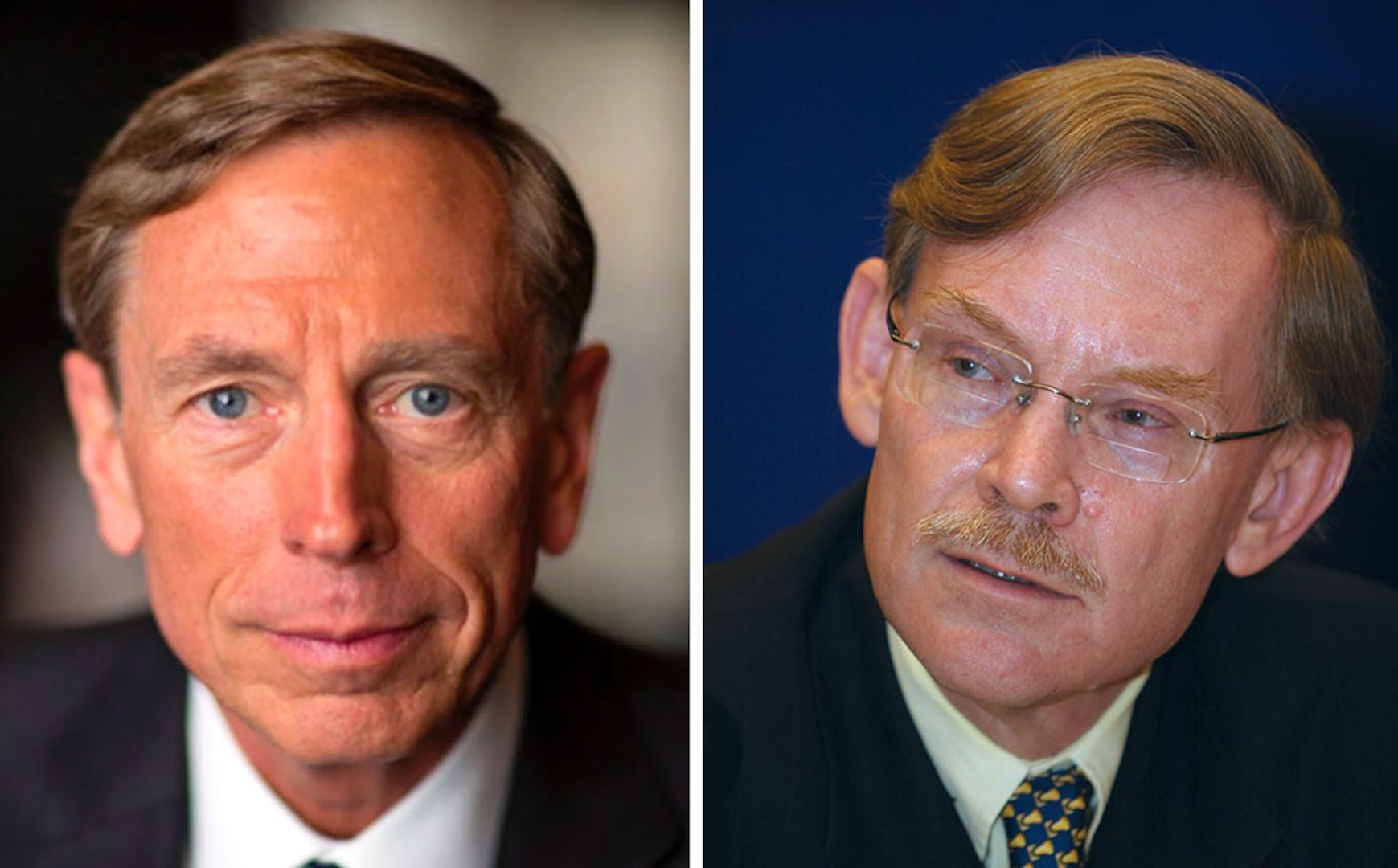 David Petraeus and Robert Zoellick