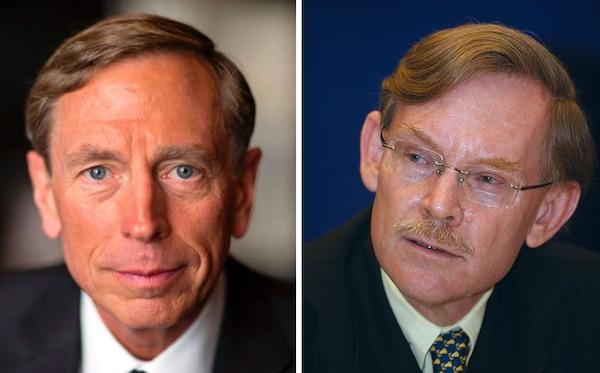 David Petraeus and Robert Zoellick