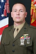 EGLIN AIR FORCE BASE, Fla. -- (April 7, 2021) Official portrait of Master Sgt. Benjamin J. Fergusonl (U.S. Navy photo)