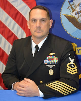 PENSACOLA, Fla. -- (April 7, 2021) Official portrait of Master Chief Petty Officer Michael D. Marler. (U.S. Navy photo)