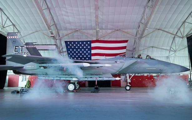 F-15EX Eagle II named, unveiled