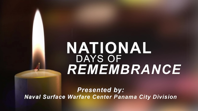 Naval Surface Warfare Center Panama City Division hosted the 2021 virtual Naval Sea Systems Command Warfare Centers Holocaust Remembrance Ceremony April 8.