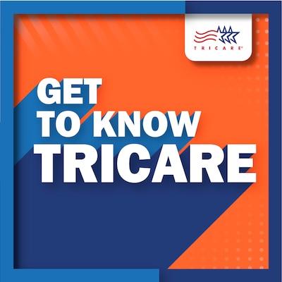 Get to Know TRICARE podcast logo