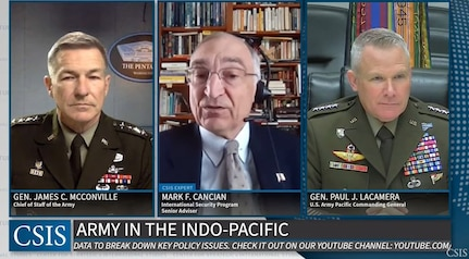 Army competing every day in Indo-Pacific, senior leaders say