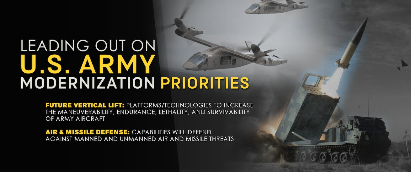 Leading out on Army Modernization Priorities
