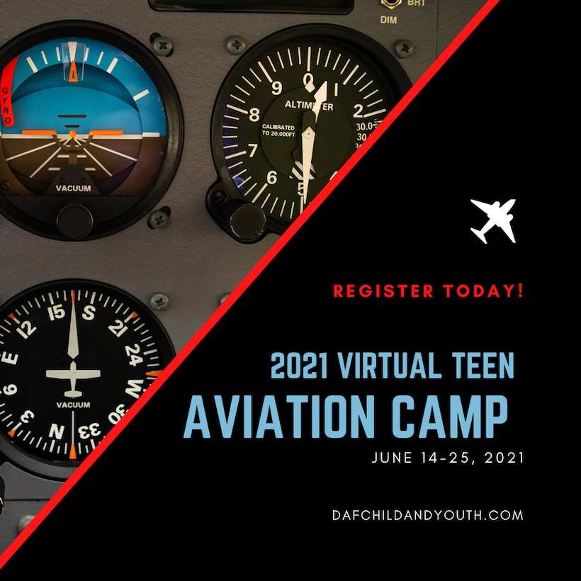Air Force Youth Programs accepting applications for summer Virtual Aviation Camp
