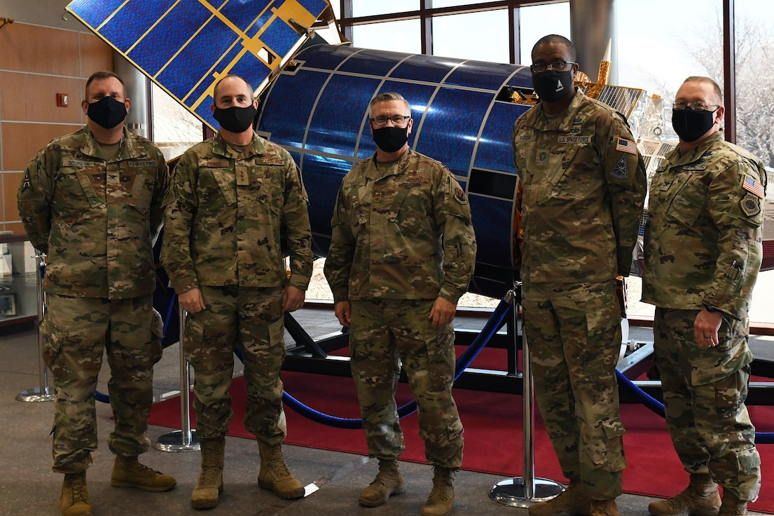 On March 11, the U.S. Air Force named First Air Force as the air component to U.S. Space Command (USSPACECOM). Last week, starting with two visits to bases in Colorado, the 1AF team became actively engaged in learning more about the potential of its new role and expanded responsibilities.