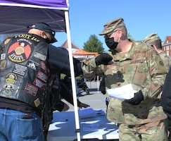 American Legion Riders bumps elbows at safety training