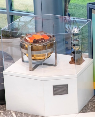 NRO time capsule and Corona exhibit