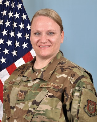 Tech. Sgt. Misty Mayes, 445th Airlift Wing Judge Advocate General Office law office manager, won the Air Force Reserve Command Outstanding Air Reserve Component NCO Paralegal of the Year award. The announcement was made March 5, 2021.