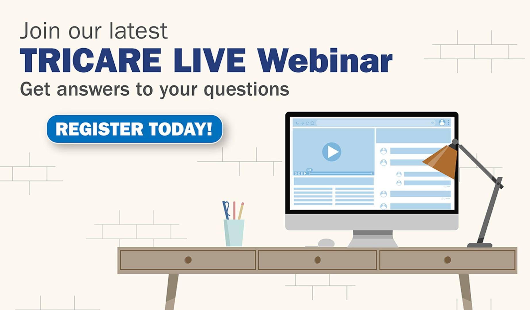 Register for TRICARE webinar promotion